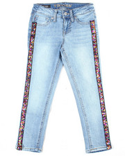 Girls - Confetti Side Tape Jean (7-16)-2455195