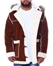 Heavy Coats - Shearling Coat (B&T)-2455494