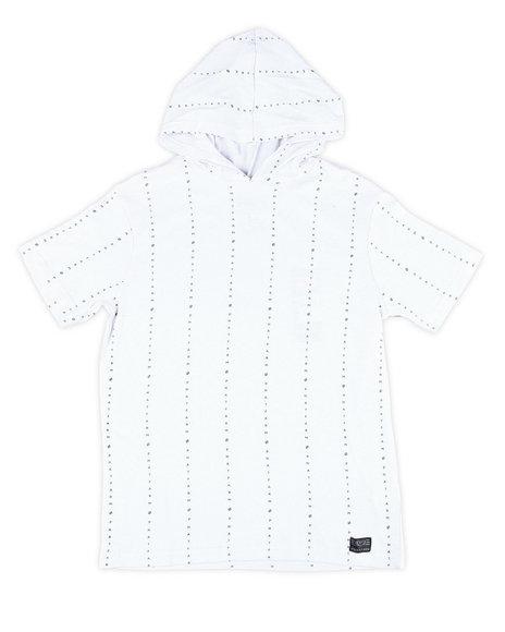 Phat Farm - S/S Vertical Stripe W/Hood (8-20)