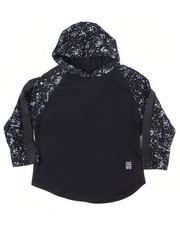 Phat Farm - L/S Paint Splatter Sleeves W/Hood (4-7)-2455190