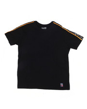 Tops - S/S Tee W/Side Poly Tape (8-20)-2454883