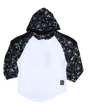 Phat Farm - L/S Paint Splatter Sleeves W/Hood (4-7)-2455185