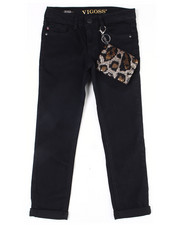 Girls - Leopard Night Out Jean (7-16)-2455168