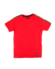 Tops - S/S Tee W/Side Poly Tape (8-20)-2454873