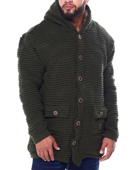 Makobi - Elongated Hoody Sweater (B&T)