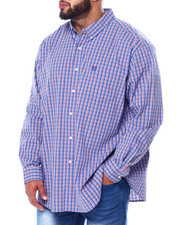 Chaps - Stretch Easy Care H-EC Stretch-L/S Sleeve-Sport Shirt (B&T)-2455452