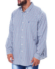 Chaps - Stretch Easy Care H-EC Stretch-L/S Sleeve-Sport Shirt (B&T)-2455446