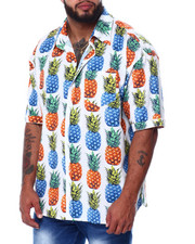 Big & Tall - Fruit S/S Woven (B&T)-2455575