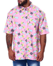 Big & Tall - Geometrics S/S Woven (B&T)-2455535
