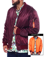 Big & Tall Faves - Filled Padded Flight Jacket (B&T)-2455474