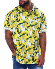 Big & Tall - Banana S/S Woven (B&T)-2455565