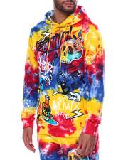 offbeat - Grafitti Tie Dye Hoodie-2456331