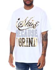 Shirts - I Shine Because I grind Foil Tee-2456191