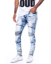 Jeans & Pants - Pleated Knee Moto Jean-2456251