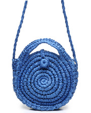 Fashion Lab - Raffia Circle Crossbody-2453661