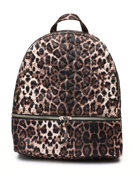 Fashion Lab - Diamond Quilted Backpack