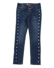 Girls - Star Stud Skinny Jeans (7-14)-2452999