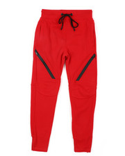 Sweatpants - Fleece Joggers W/ Waxed Zippers (8-18)-2451769