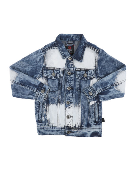 Akademiks - Trucker Denim Jacket (4-7)