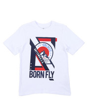 Born Fly - Short Sleeve Graphic Tee (8-20)-2452634