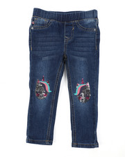 Girls - Gemini Unicorn Jeans (2T-4T)-2453020