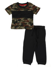 Infant & Newborn - 2 Pc Jogger Set (Infant)-2450787