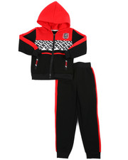 Boys - 2 Pc Jogger Set (4-7)-2452561