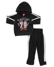 Arcade Styles - Fleece Zip-Up Hoodie & Jogger Set (2T-4T)-2454329