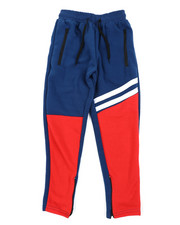 Sweatpants - Color Block Fleece Sweatpants (8-20)-2454382