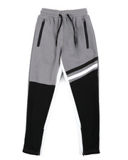 Sweatpants - Color Block Fleece Sweatpants (8-20)-2454392