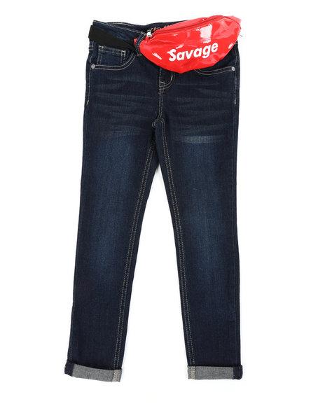 Vigoss Jeans - Jeans W/ Savage Belt Bag (7-16)