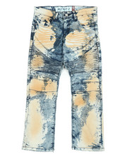 Arcade Styles - Stretch Moto Denim Jeans (8-20)-2454436
