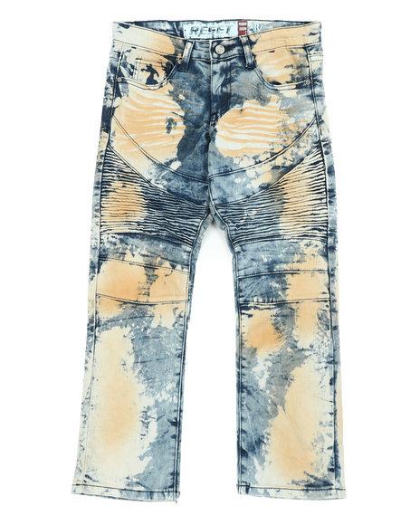 Arcade Styles - Stretch Moto Denim Jeans (8-20)