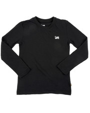 Lee - Long Sleeve Logo Tee (8-20)-2454338