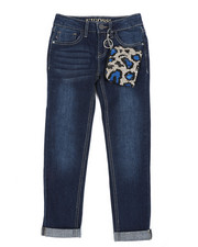 Girls - Once In A Blue Leo Jeans (7-16)-2453286