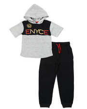 Boys - 2 Pc Jogger Set (4-7)-2450868