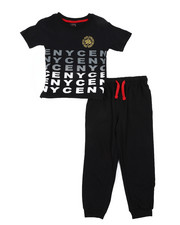 Boys - 2 Pc Jogger Set (4-7)-2450885