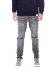 Jeans & Pants - Montana Grey Paint Splatter Jean-2457010