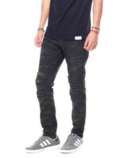 Pants - Camo Distressed Moto Pant-2457152