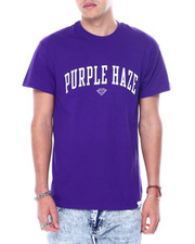 Diamond Supply Co - Cam ron x Diamond PURPLE HAZE TEE-2457112