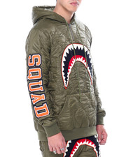 Hudson NYC - QUILTED SHARKMOUTH PULLOVER HOODY-2457175