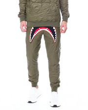 Pants - QUILTED SHARK MOUTH PANTS-2457180