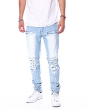Jeans & Pants - Ice Wash Articulated knee Jean-2457096