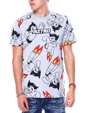 Shirts - Chenille Patch All over Astroboy Print Tee-2457461