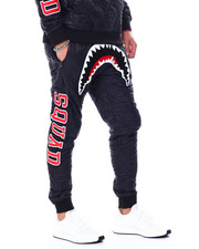 Pants - QUILTED SHARK MOUTH PANTS-2457192