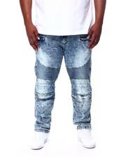 Jeans & Pants - Stretch Moto Zipper And Rip + Repair (B&T)-2456795