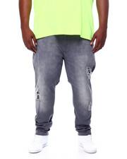 Jeans & Pants - Stretch Jean W/Tone On Tone Repair (B&T)-2457549