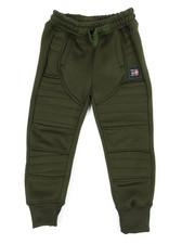 Sweatpants - Moto Fleece Joggers (2T-4T)-2456056