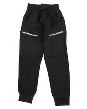 Sweatpants - Cut & Sew Moto Fleece Joggers (4-7)-2456623