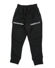 Sweatpants - Cut & Sew Moto Fleece Joggers (2T-4T)-2456349